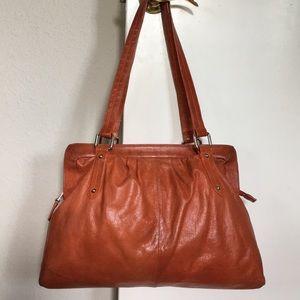 EUC 🌺 HOBO INTERNATIONAL Leather Shoulder Bag!